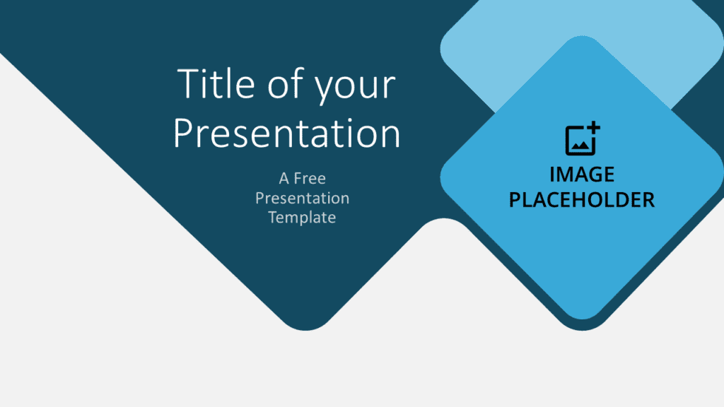 Free Abstract Rounded Template for Google Slides - Cover Slide