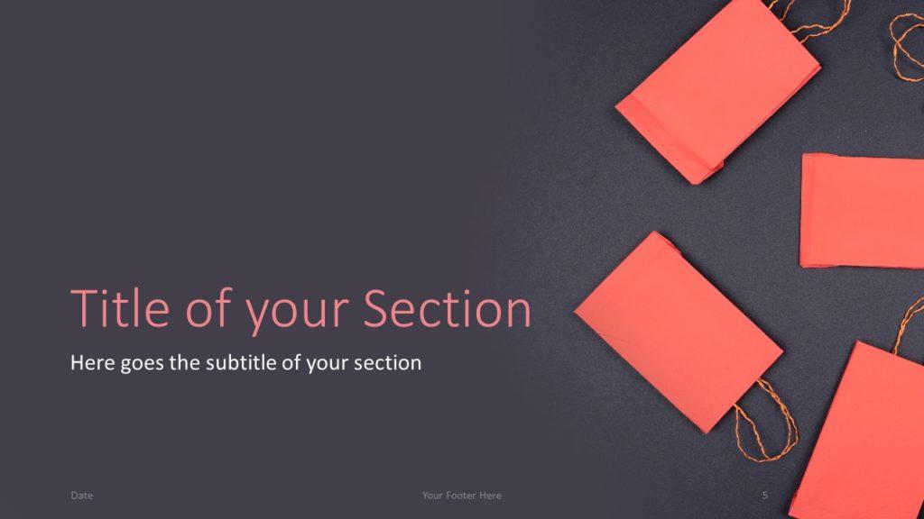 Free Sales Template for Google Slides – Section Slide (Variant 2)