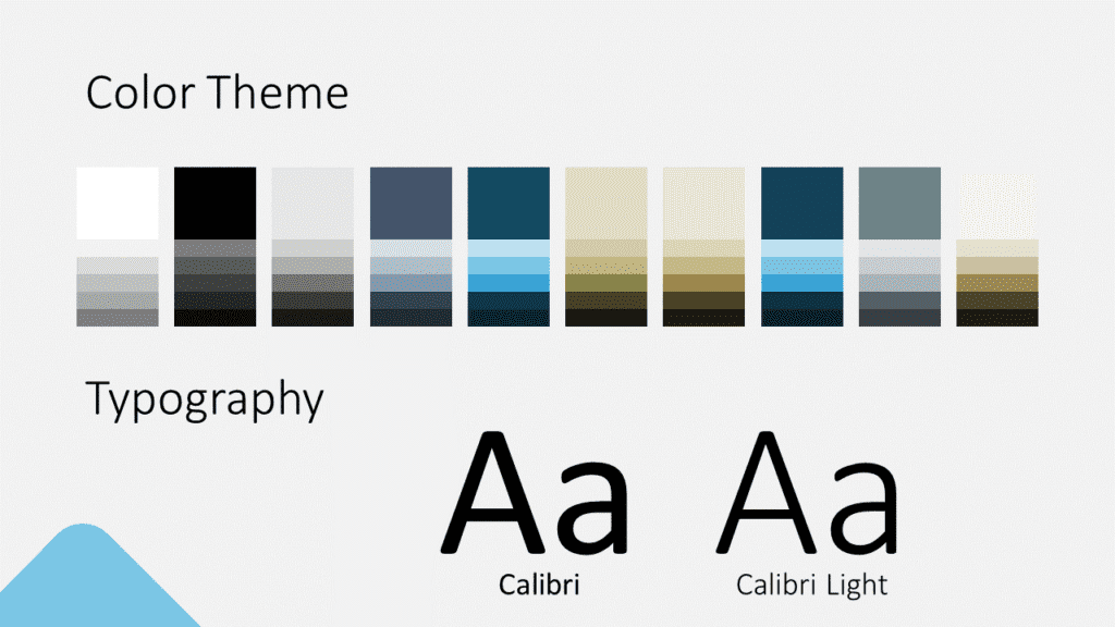 Free Abstract Rounded Template for Google Slides – Colors and Fonts