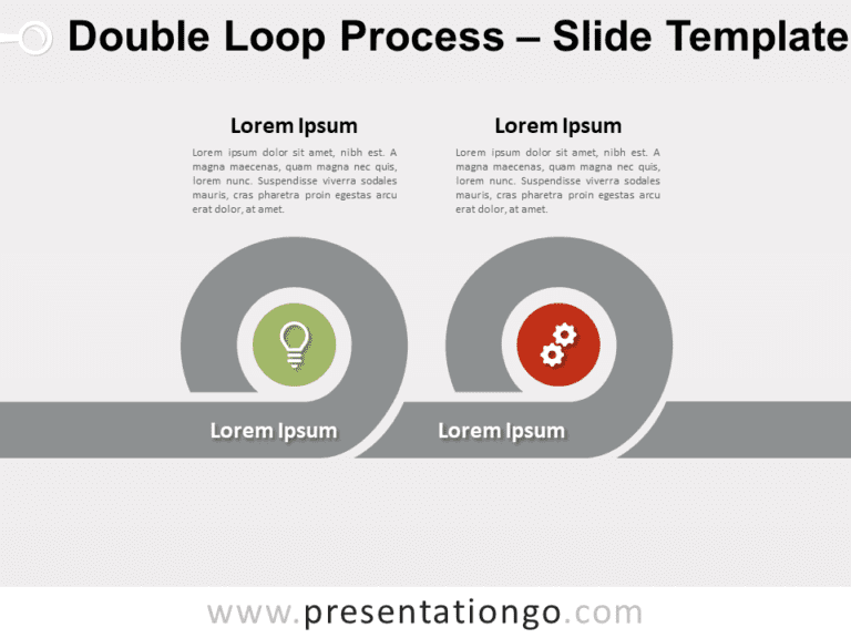 Free Double Loop Process for PowerPoint