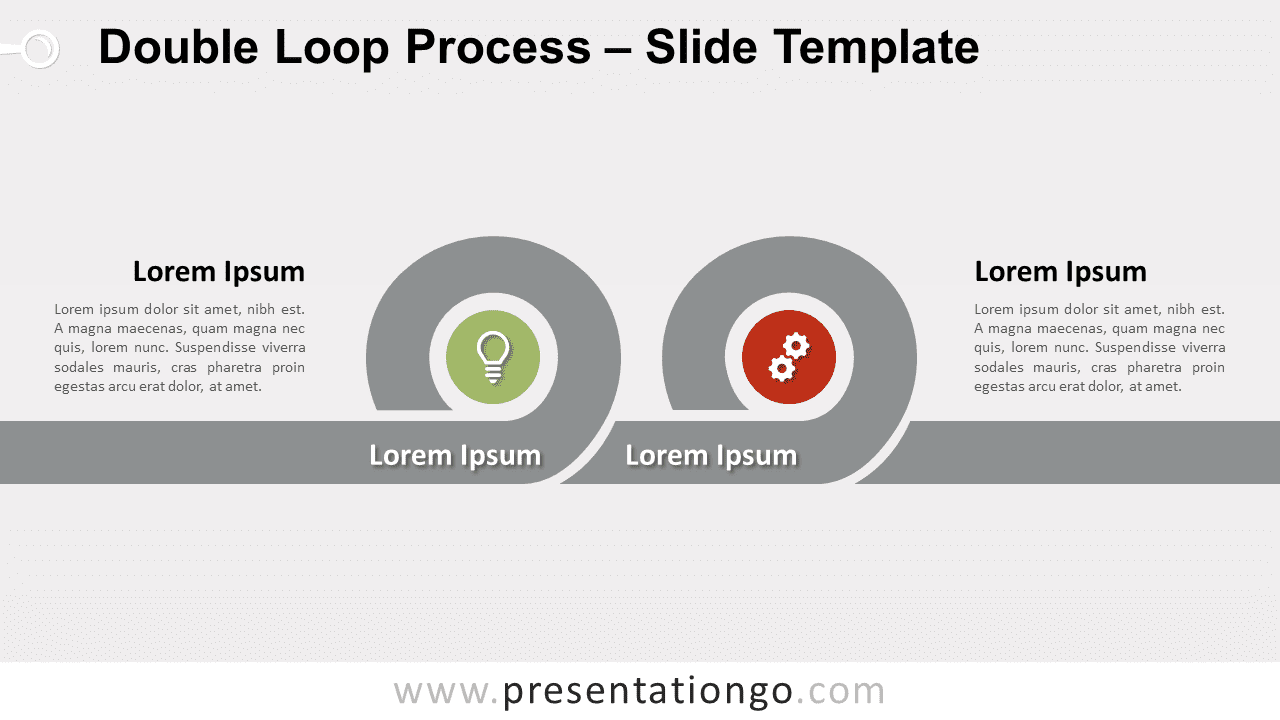 Free Double Loop Process for PowerPoint and Google Slides