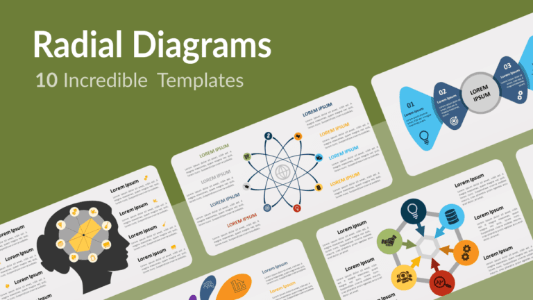 Incredible Free Radial Diagram Templates for PowerPoint