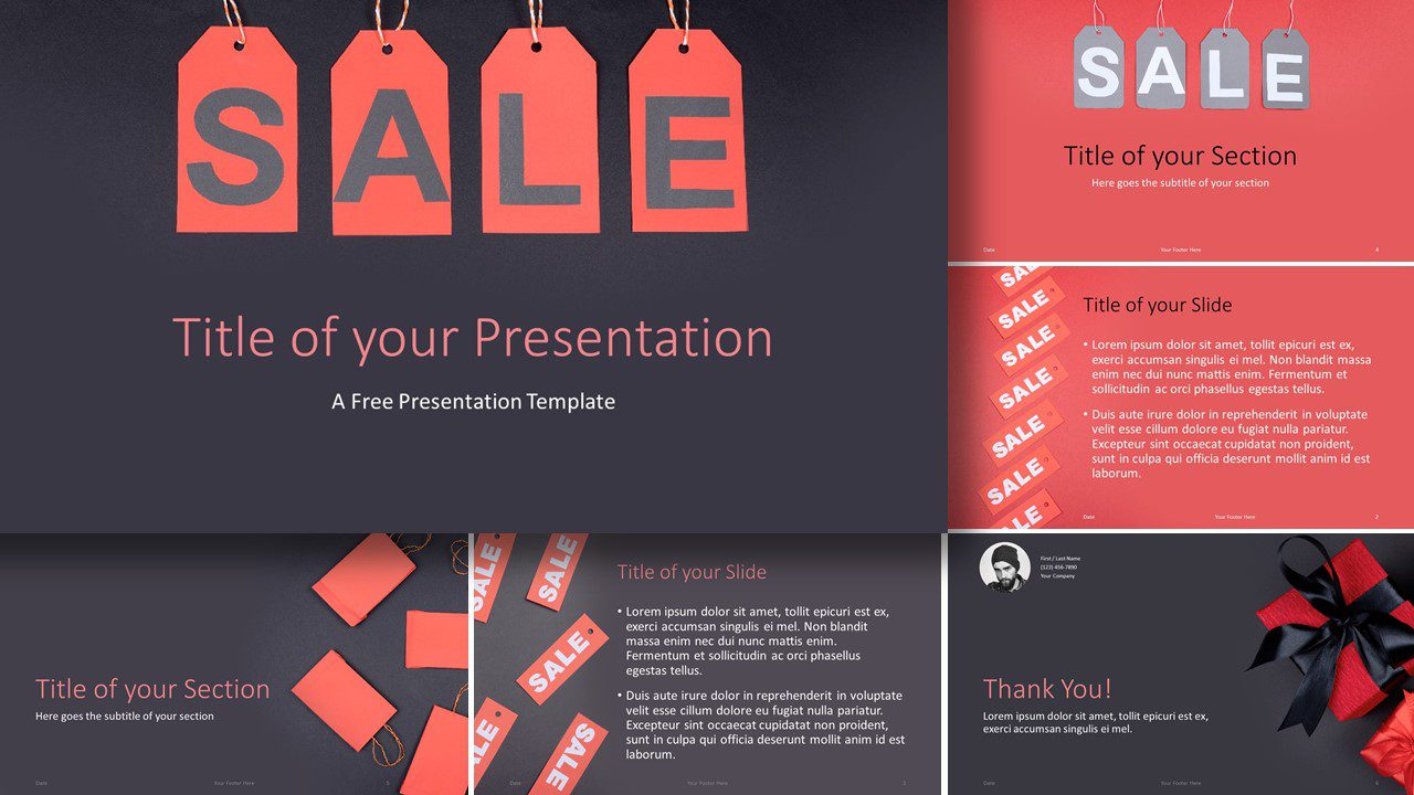 Free Sales Template for Google Slides and PowerPoint