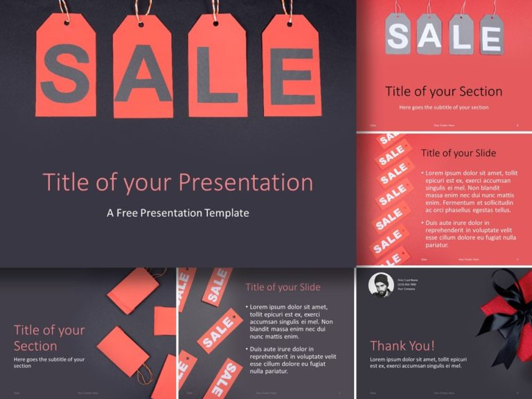 Free Sales Template for PowerPoint and Google Slides