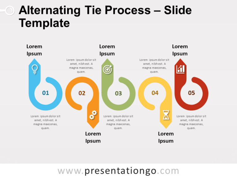 Free Alternating Tie Process for PowerPoint