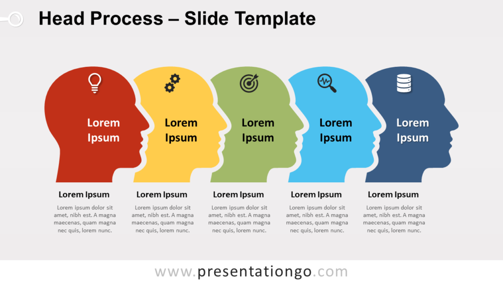 Free Head Process for PowerPoint and Google Slides