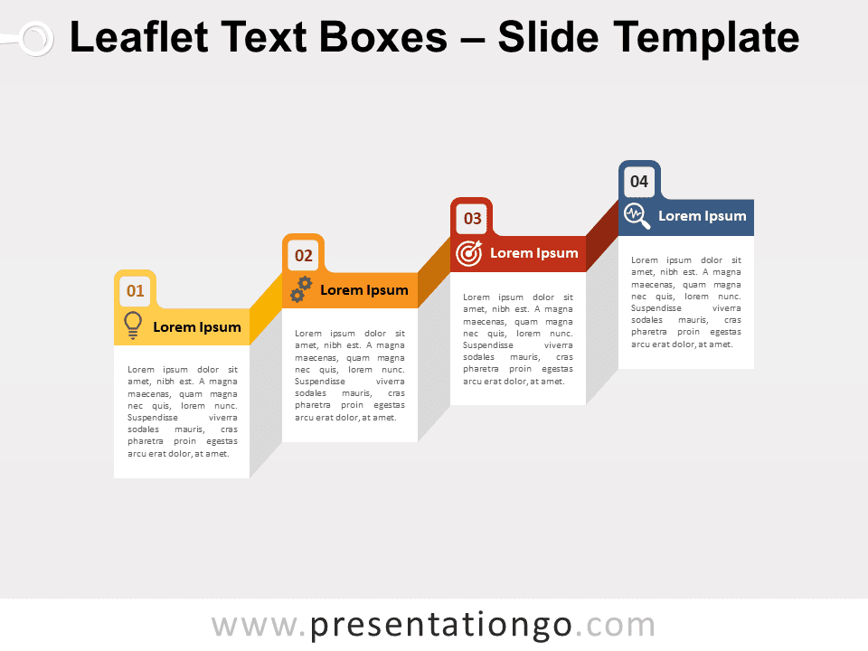 Free Leaflet Text Boxes for PowerPoint